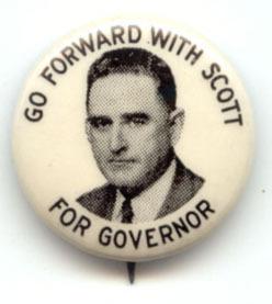 William Kerr Scott button