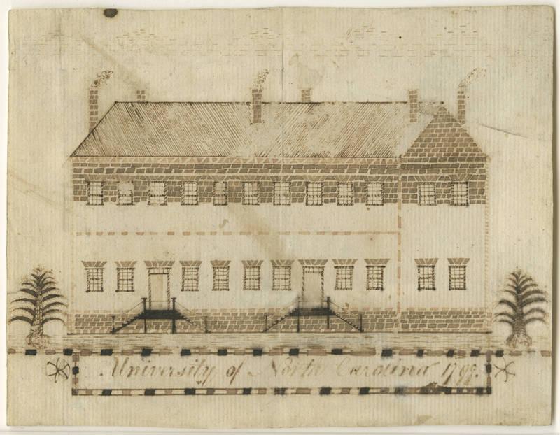 Old East, drawing by John Pettigrew, 1797