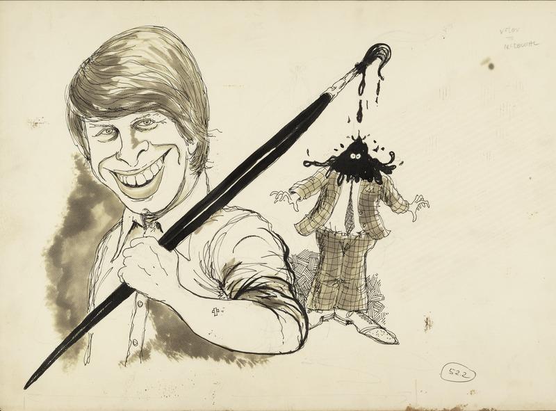 A self-portrait by Dwane Powell