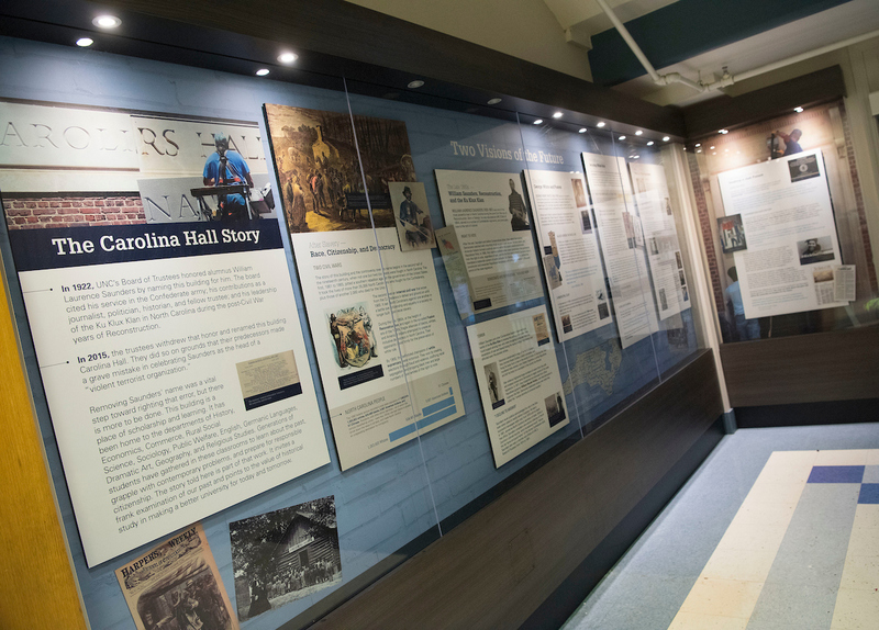 Carolina Hall exhibit