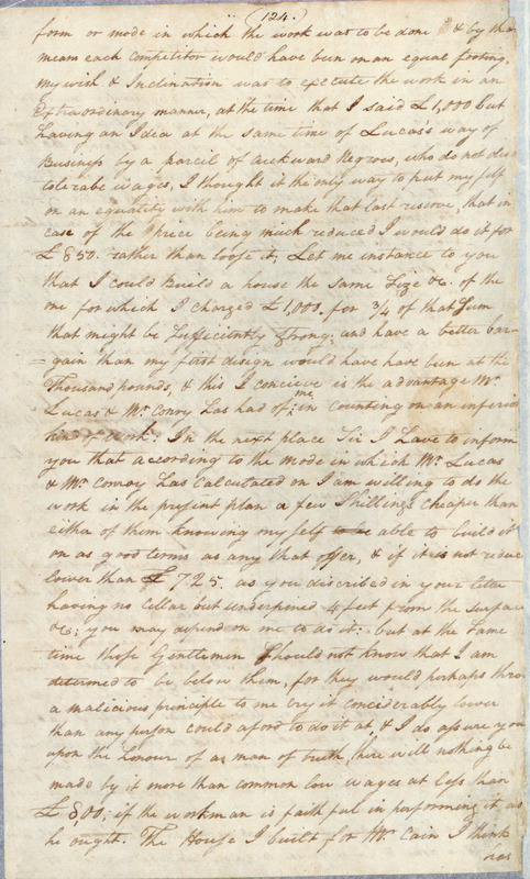 8 January 1794. Samuel Hopkins to John Haywood.