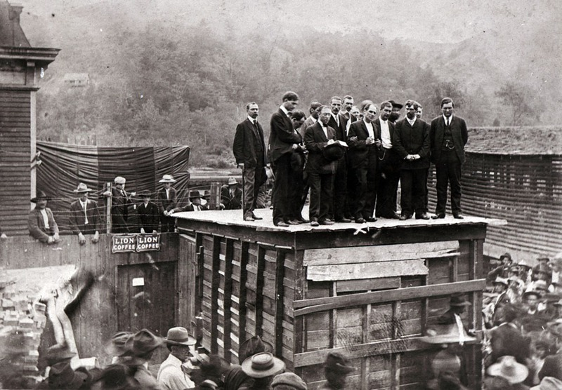 Hanging of Peter Smith in Marshall, N.C.