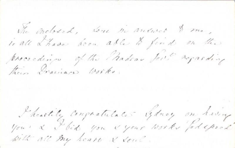 Letter to William Clark: 9 September 1876, page 6