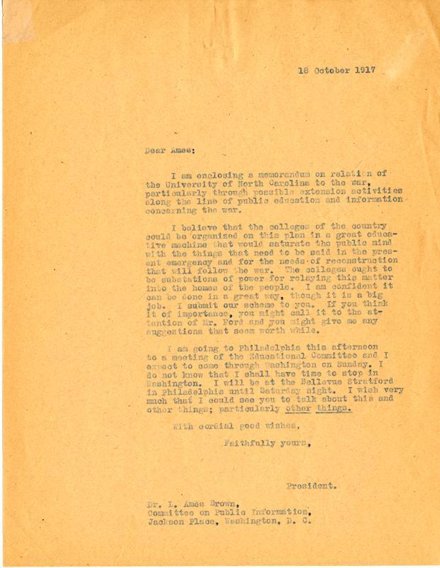 http://www2.lib.unc.edu/mss/exhibits/patriotism/Images/Large/GrahamtoAmesBrown18Oct1917.jpg