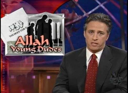 "Link, ""Allah Young Dudes"" excerpt from The Daily Show with Jon Stewart"