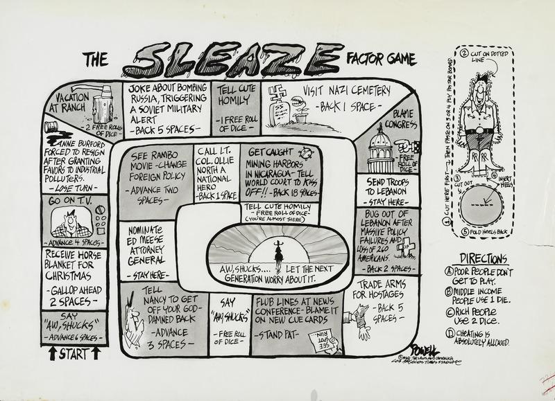 The Sleaze Factor Game