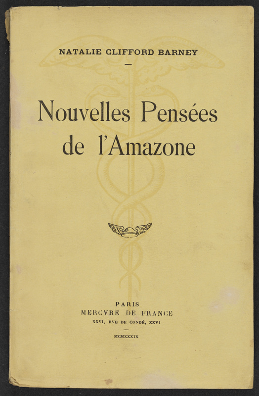 Nouvelles pensées del'Amazone/ New thoughts of the Amazon<br />
