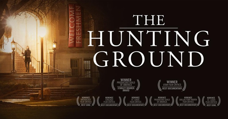 Cover of The Hunting Ground DVD