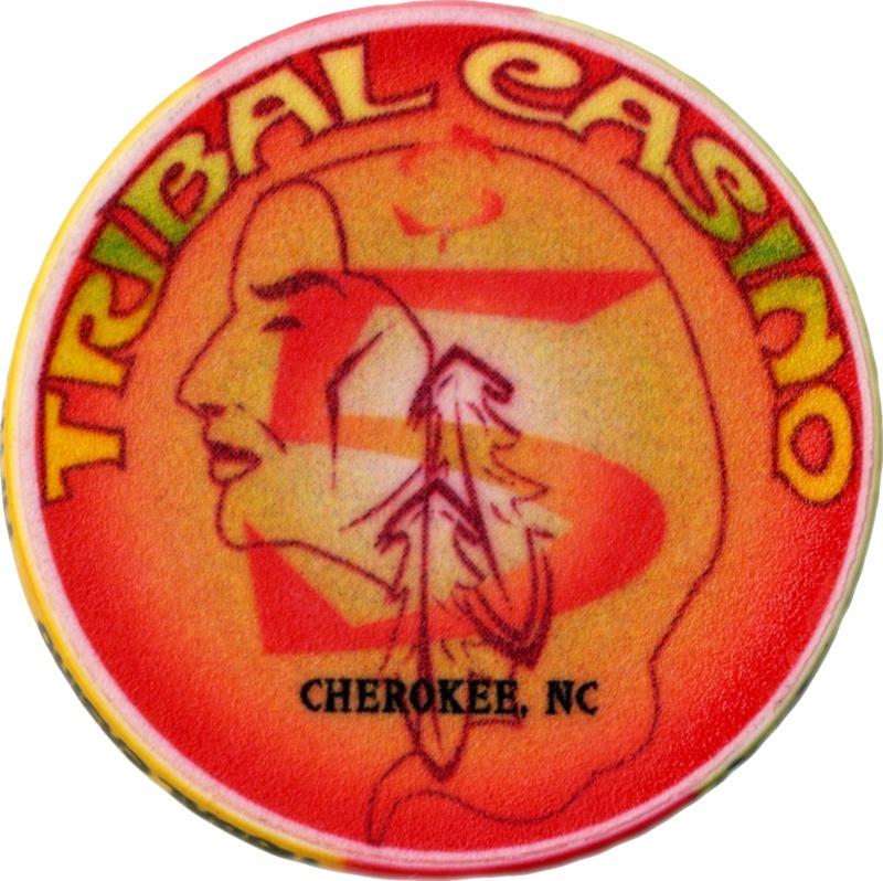 Tribal casino chip, Cherokee, NC 2002