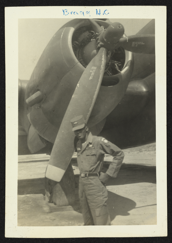 Photograph of Albert Lockhart of the 82nd Airborne Division at Fort Bragg