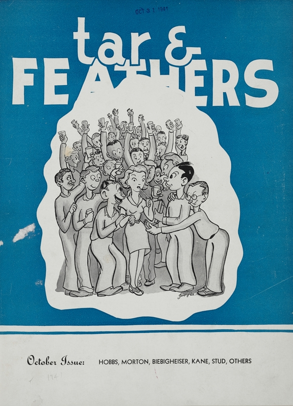 Magazine cover, Tar An' Feathers