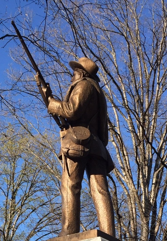 "Confederate monument ""Silent Sam"""