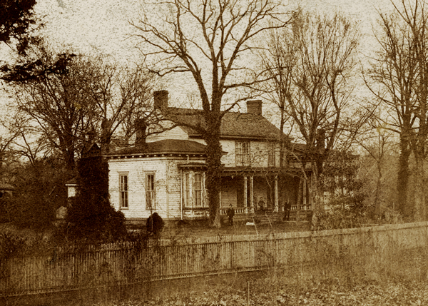 Home of William H. Battle, 1892.