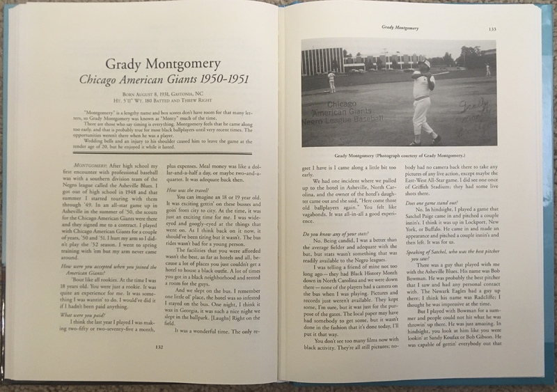 Grady Montgomery book pages