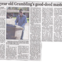 93-year Old Grambling's Good-Deed Master