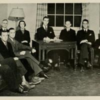 Photograph of Carolina Political Union Executive Committee
