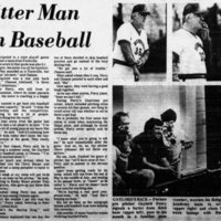 Gaylord Perry, Rocky Mount Telegram March 17, 1985