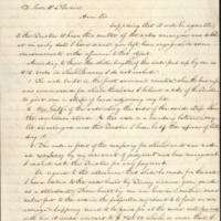 3 December 1844. Elisha Mitchell to David L. Swain. University of North Carolina Papers (#40005), University Archives, Wilson Library, University of North Carolina at Chapel Hill. Page 1.