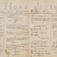 front cover of Home Journal by Collier Cobb (1862-1934), Shelby, N.C. and Lincolnton, N.C.