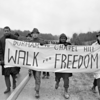 "Photograph, Durham to Chapel Hill ""Walk for Freedom"""