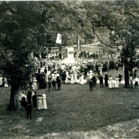 Unveiling, 1913