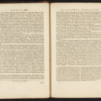 Pages 24 and 25 of Essays and Treatises on Several Subjects by David Hume