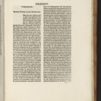 Image of open book containing opening passages of Plato's Timaeus dialogue