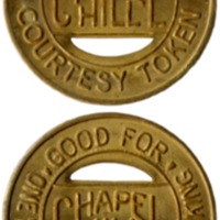 Chapel Hill, NC transit token