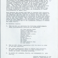 """A Resolution of the UNC Chapter of the Student Peace Union""."