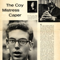"Article, ""The Coy Mistress Caper,"" Life, November 1966: 99-102."
