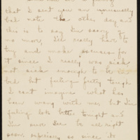 Letter from Jane Crichton Williams Lewis, late October 1918