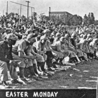 N. C. State baseball game, Easter Monday 1939.