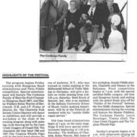 Fiddler's Festival Returns to Union Grove