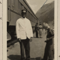 Photograph of a Pullman porter
