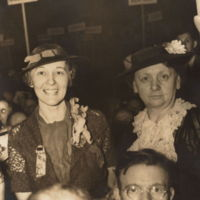 Gladys Nett and Harriet Elliott, 1936