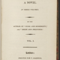 Dedication to the Prince Regent in Emma (1815)