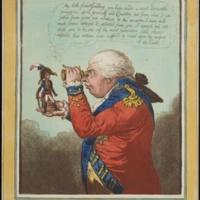 King of Brobdingnag by James Gillray