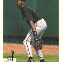 1994 Upper Deck Collector's Choice Baseball #23 Michael Jordan Rookie Card