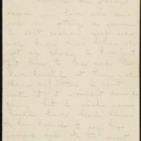 Letter from Jane Crichton Williams Lewis to Lucy Tunstall Alston, circa 15 November 1918