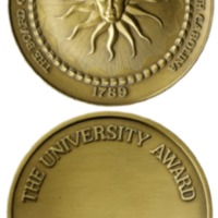 The University Award medal