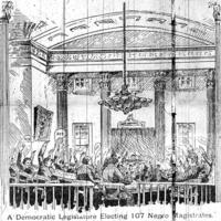 A Democratic Legislature Electing 107 Negro Magistrates.