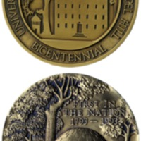University of North Carolina Bicentennial medal