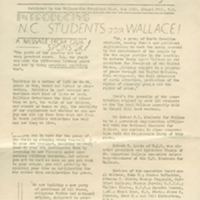 UNC Wallace Weekly