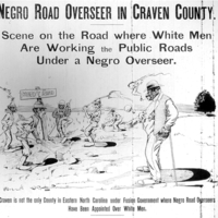 Negro Road Overseer in Craven County .