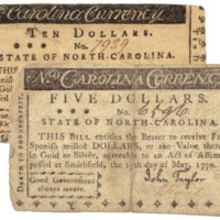 Two North Carolina 1779 notes