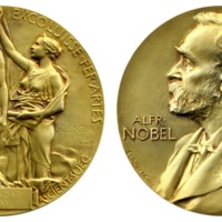 Aziz Sancar Nobel medal replica