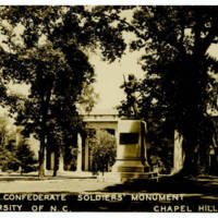 Confederate Soldiers' Monument, circa 1943