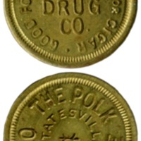 Gray Drug token