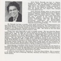 Annie Brown Kennedy photo and bio