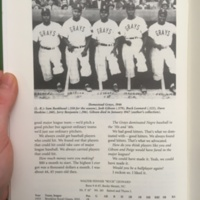 Homestead Grays, Negro League baseball team, photo